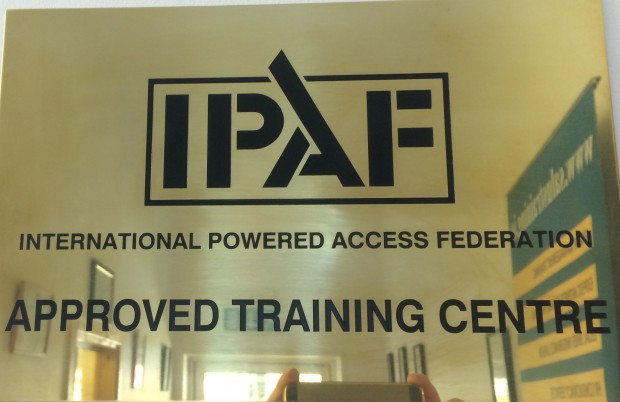 IPAF Plaque cropped